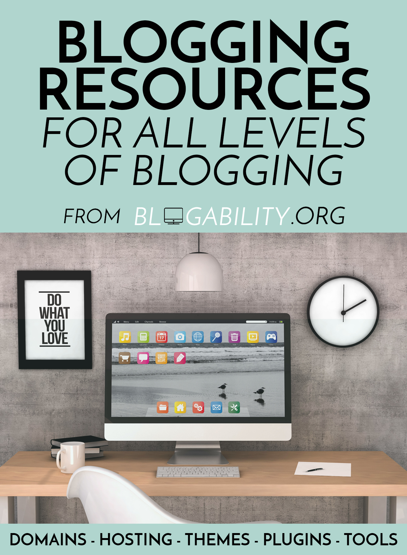 Blogging Resources - come learn about the best blogging resources out there for all levels of blogging! From www.blogability.org