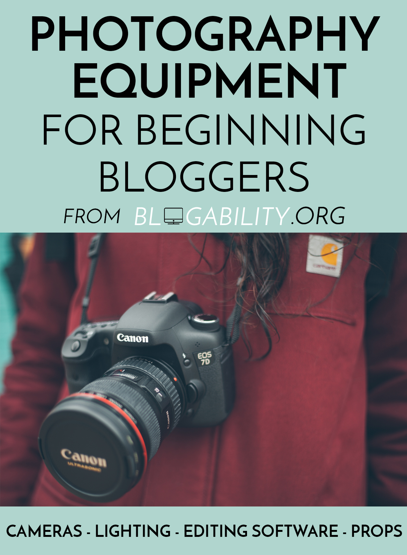Great resource for beginners who don't know where to start with their first DSLR purchase. Really smart and affordable prop ideas too that I never would have thought of!